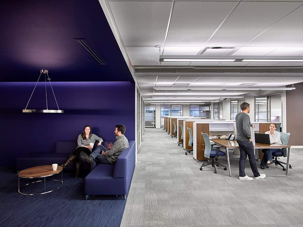modern office constructed by Blackwell Construction